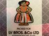 Etichetta in PVC o  Silicone trasparente opalino stampata in serigrafia