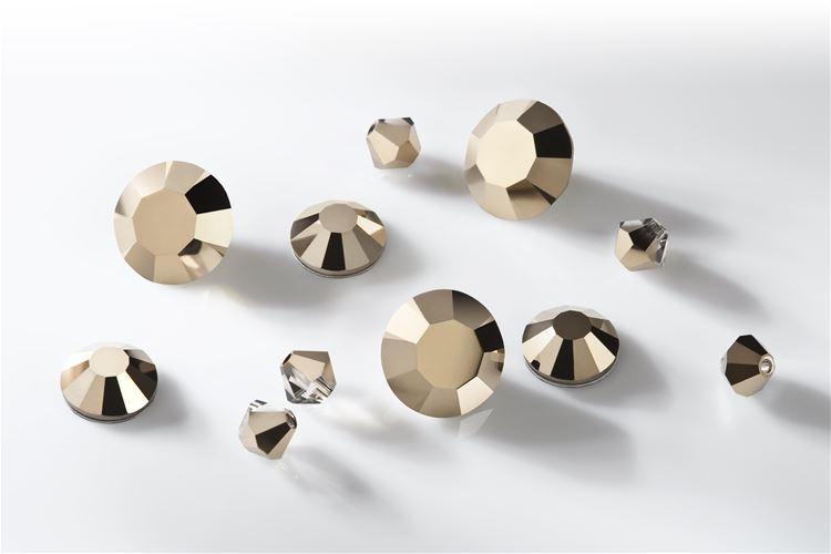 Preciosa Crystal Starlight Gold - Nuovo colore