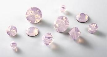 Crystal Rose Opal by Preciosa