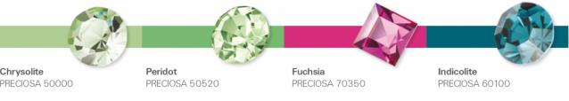Preciosa & Pantone Spriing-Summer 2016 colur trends - Fruity Sundae