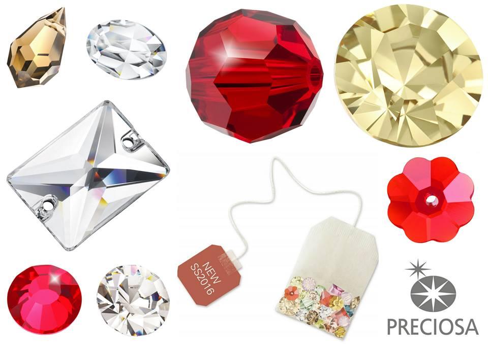 Pantone & Preciosa Colour Trends for Spring-Summer 2016