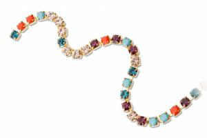 Preciosa Cup Chains multicolor