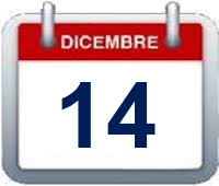 Calendario - 14 dicembre