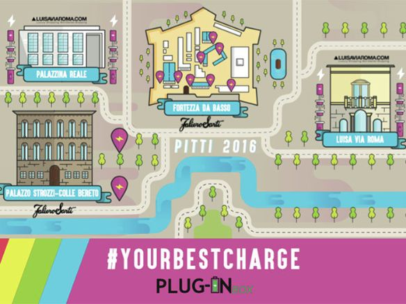 A Pitti Uomo #yourbestcharge by Plug-in Box