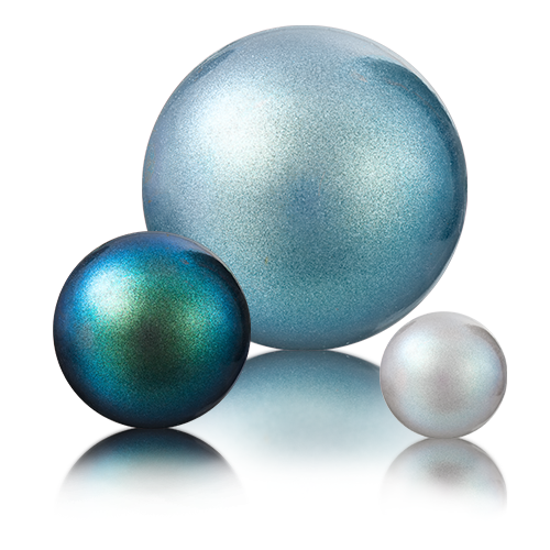 Perlescent Colors for Crystal Nacre Pearls Maxima by Preciosa®