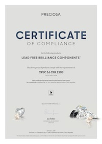 Certificazione CPSC 16 CFR 1303 - Miniatura