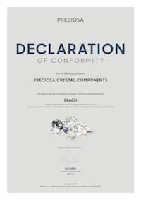 Dichiarazione di Conformità REACH (2018)