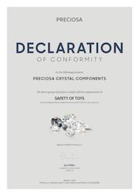 Dichiarazione di Conformità SafetyOfToys (2018)