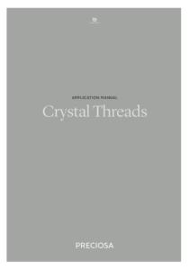 Copertina Manuale Preciosa® Crystal Thread Application