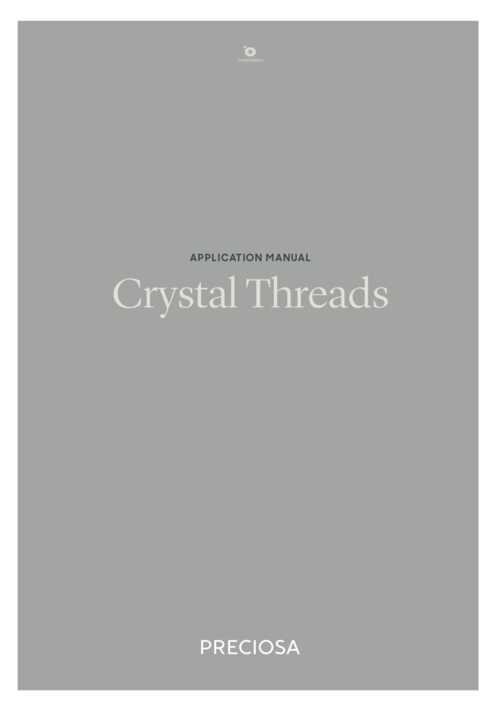 Copertina Manuale Preciosa® Crystal Thread Application