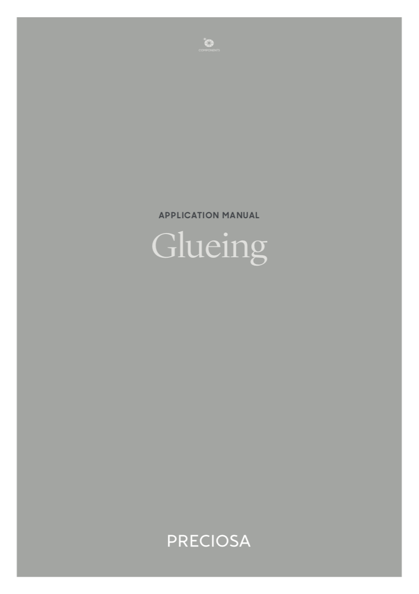 Preciosa Application Manual - Glueing