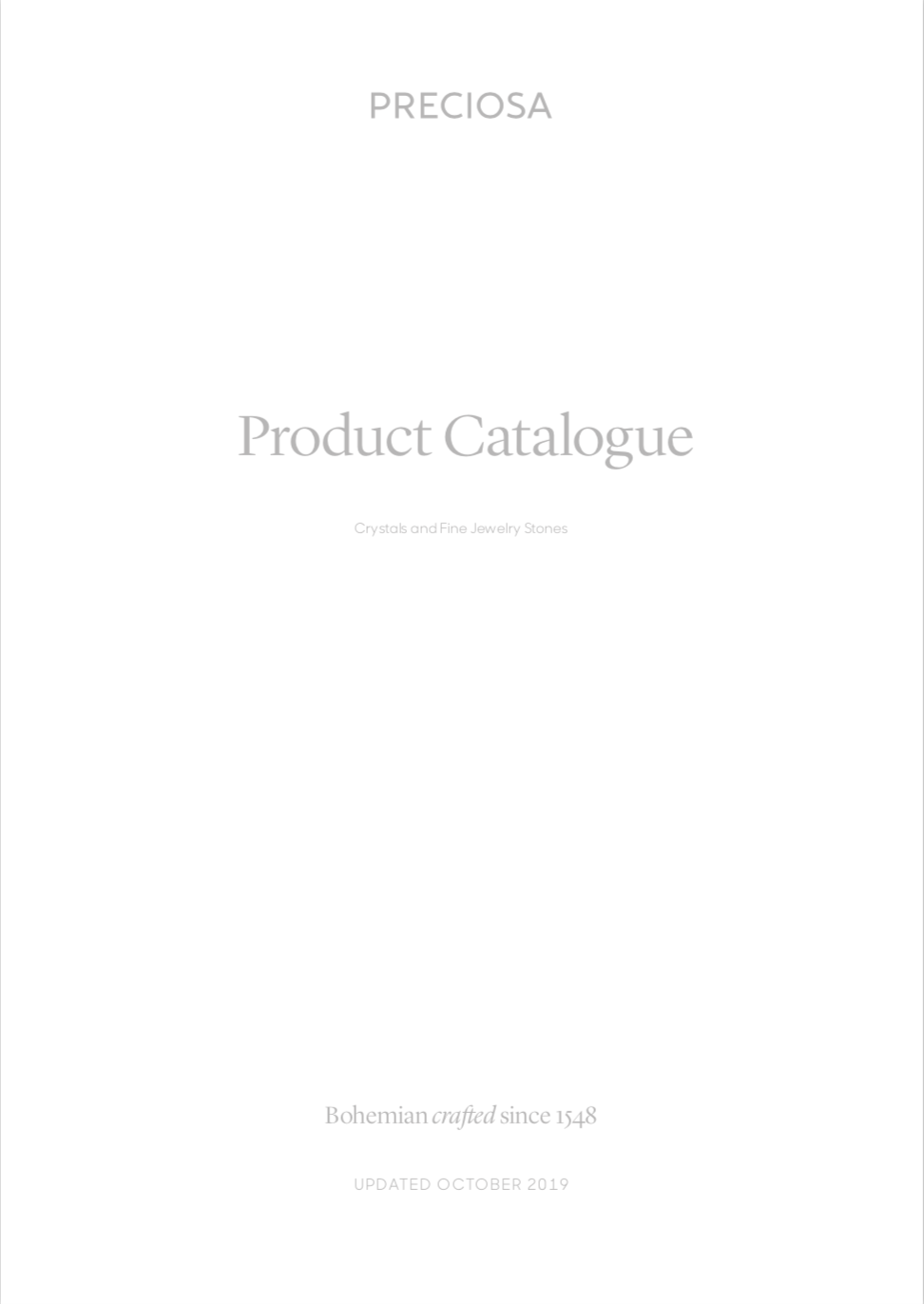 Preciosa® Product Catalogue 2019_10