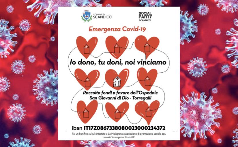 Lotta a Covid-19, parte da Scandicci la raccolta fondi per la terapia intensiva di Torregalli