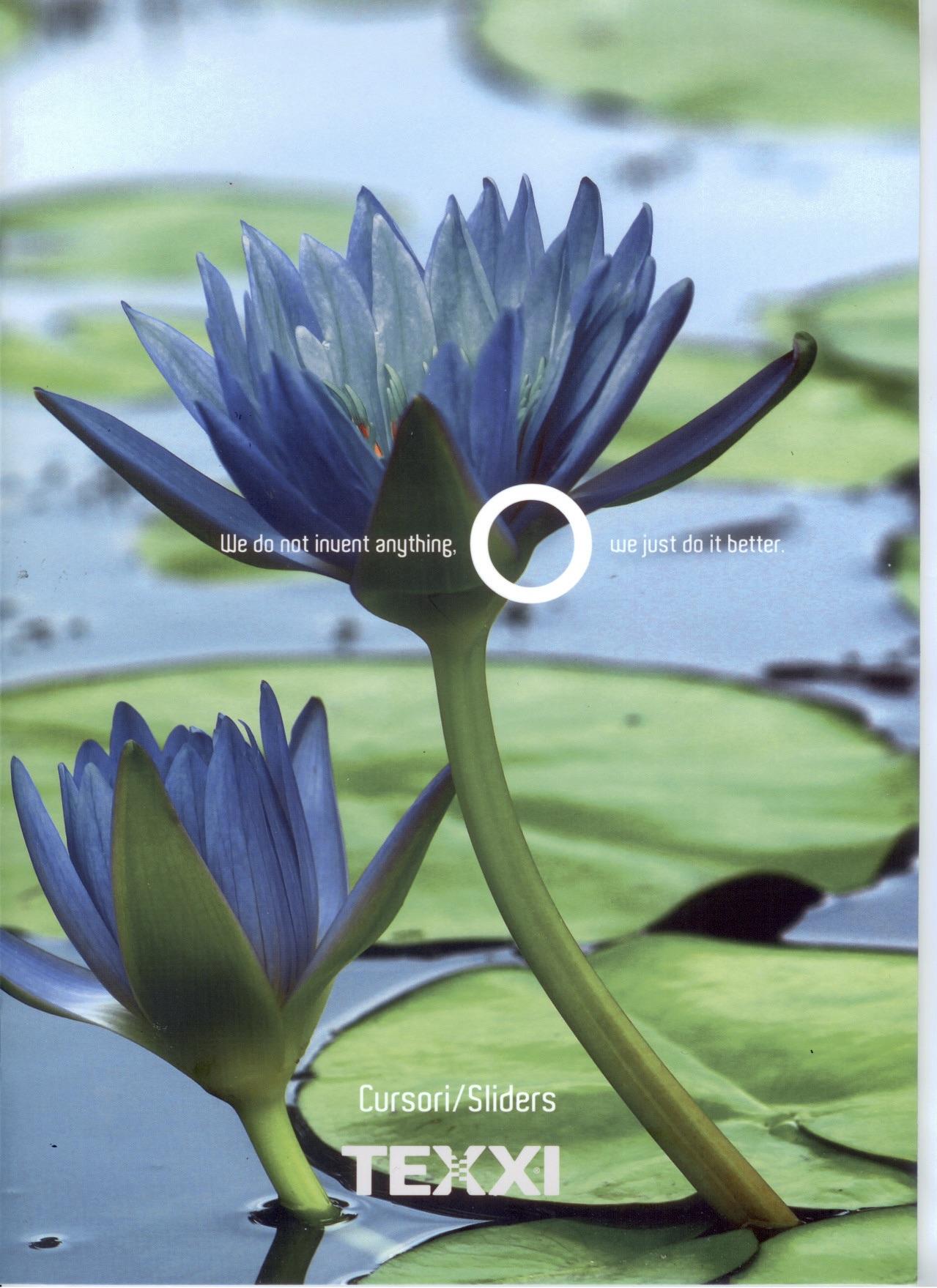 TEXXI - Catalogo cursori - copertina