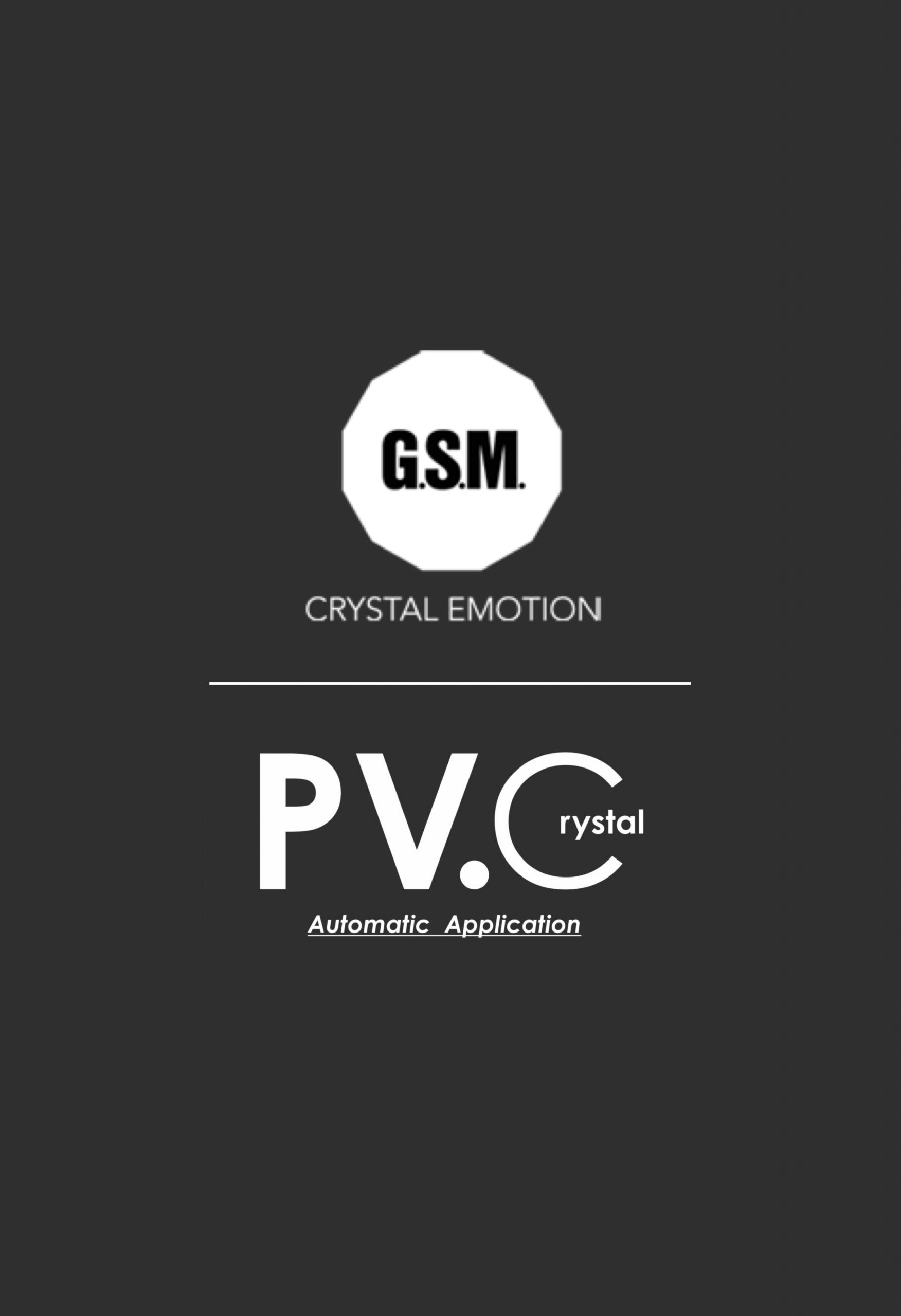 PC.Crystal - Applicazione automatica su PVC trasparente