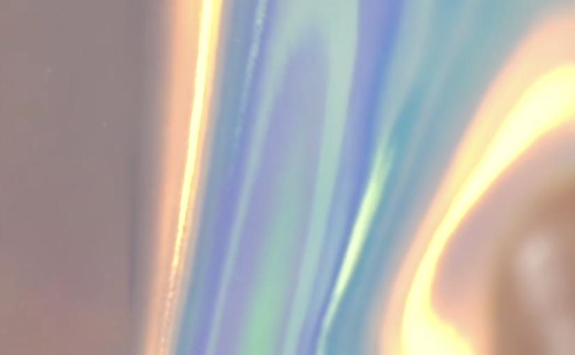 Plexisoft - PVC trasparente iridescente lucido