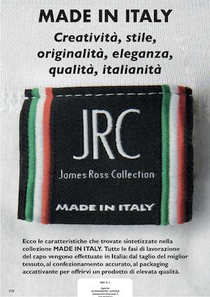 Catalogo JRC 2021 – Made in Italy