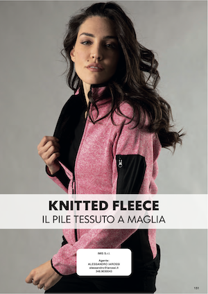 Catalogo JRC 2021 – Pile tessuto a maglia