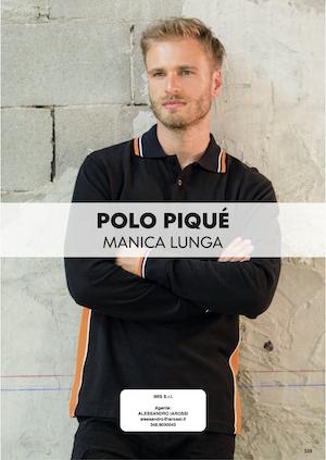 Catalogo JRC 2021 – Polo Piquet manica lunga