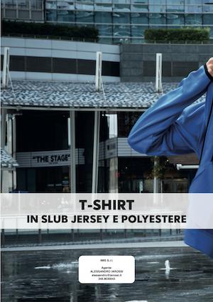 Catalogo JRC 2021 – T-Shirt in slub, jersey e poliestere