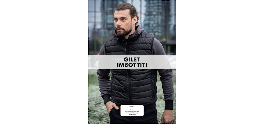 Catalogo JRC 2021 - Gilet imbottiti