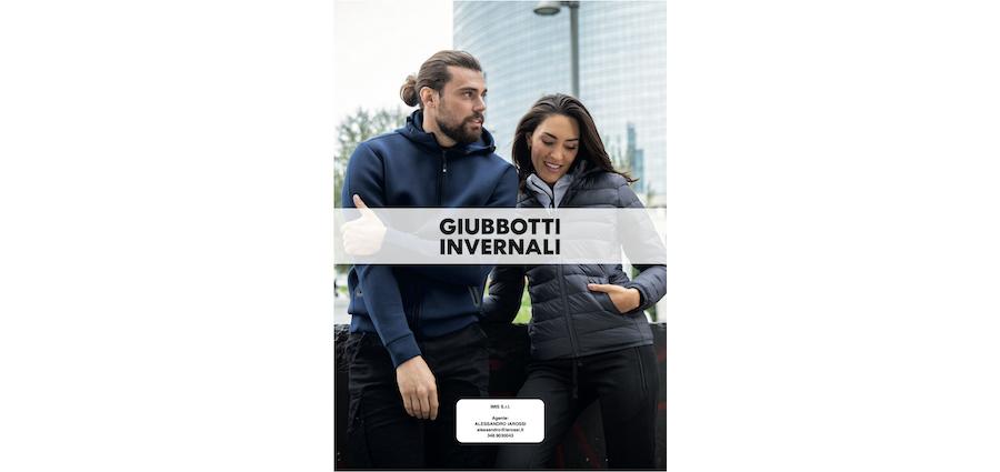 Catalogo JRC 2021 - Giubbotti Invernali