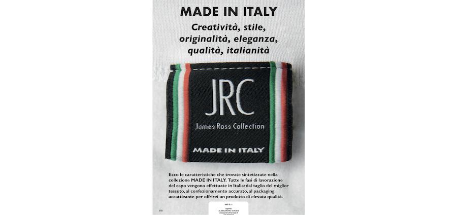 Catalogo JRC 2021 - Made in Italy