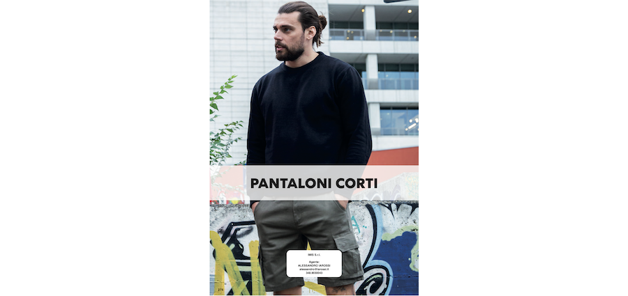 Catalogo JRC 2021 - Pantaloni corti