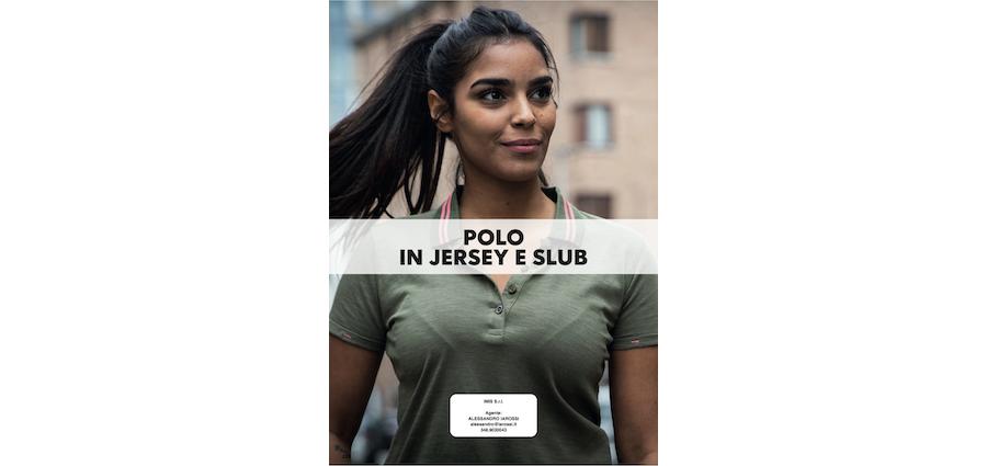 Catalogo JRC 2021 - Polo in jersey e slub