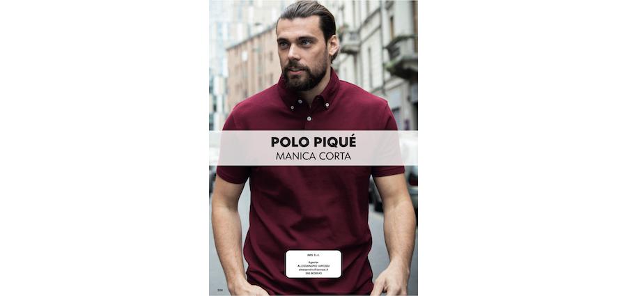 Catalogo 2021 JRC - Polo Piquet manica corta
