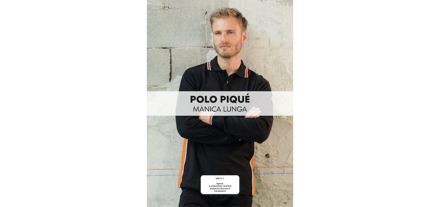 Catalogo JRC 2021 - Polo Piquet manica lunga