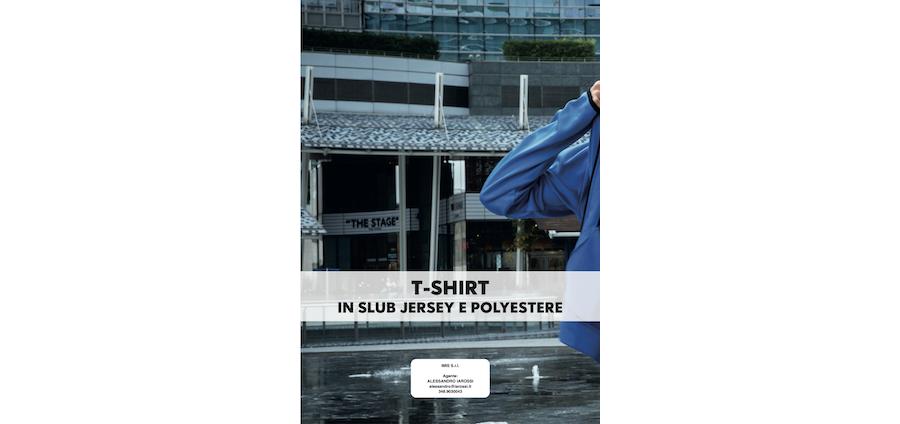 Catalogo JRC 2021 - T-Shirt in slub, jersey e poliestere