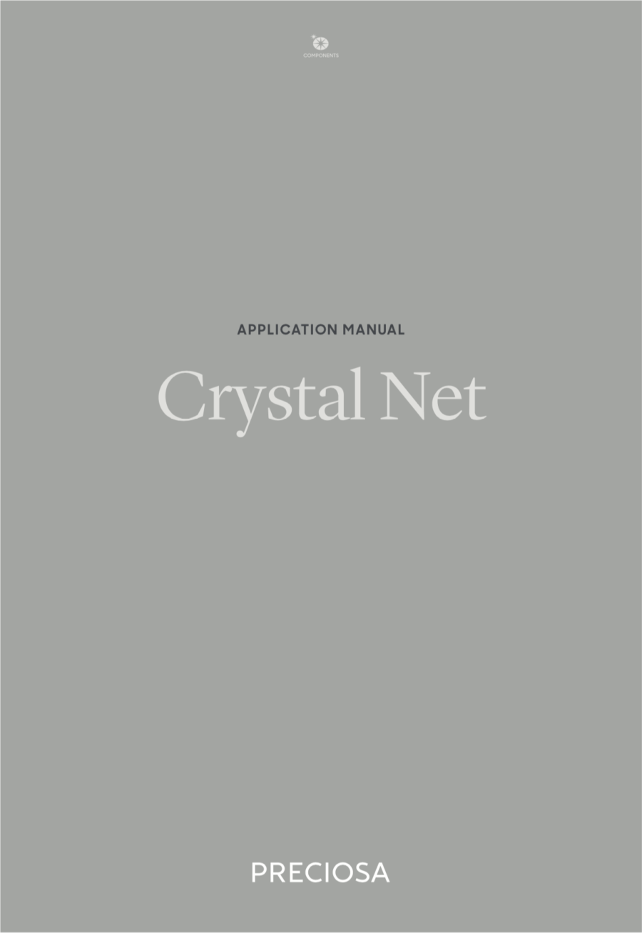 Application Manual Crystal Net (2019_04)