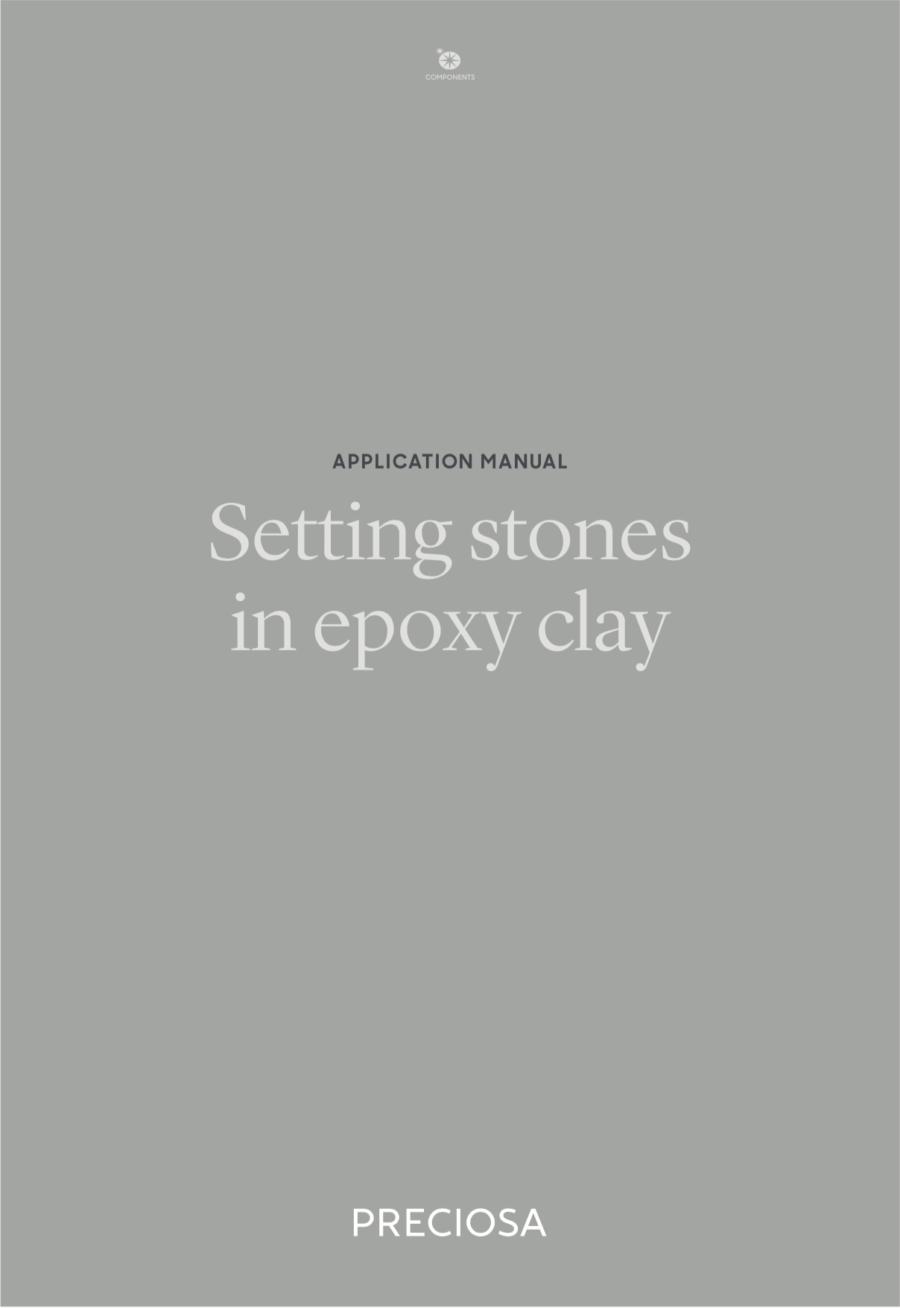 Setting Stones in Epoxy Clay (2019_04)