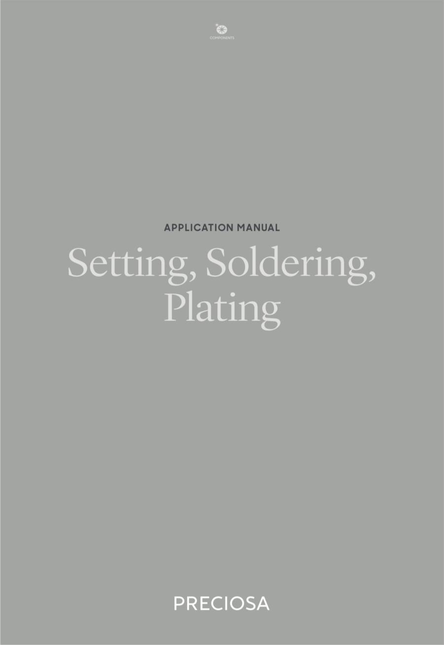 Setting, Soldering, Plating (2019_04)