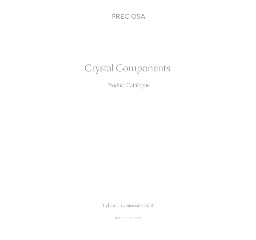 Preciosa Product Catalogue (2020_12)