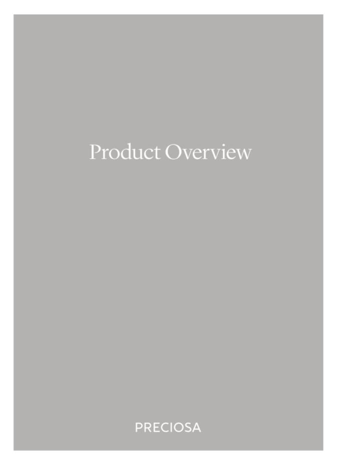 Preciosa Product Overview (2019_02)
